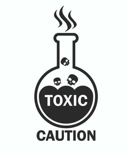 Toxic Warning
