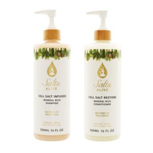 2pc Kit: INFUSED Shampoo & RESTORE Conditioner 16oz 500ml