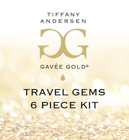 6-pc Starter Gems (Travel Kit) Label