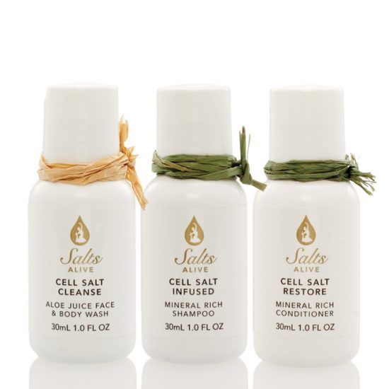 Cell Salt 3PC Travel Set (Infused, Restore, Cleanse)