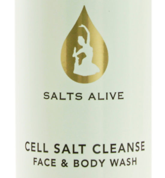 Cell Salt Cleanse Face & Body Wash 8oz 250ml Label