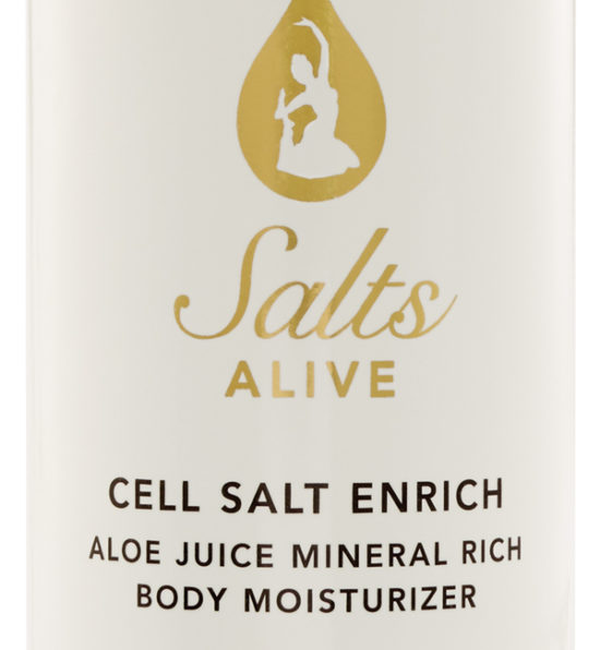 Cell Salt Cleanse Face & Body Wash 16oz 500ml Label