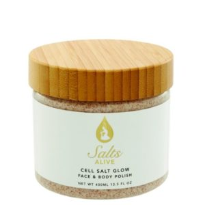 Cell Salt Glow Scrub 13.5 oz 400ml