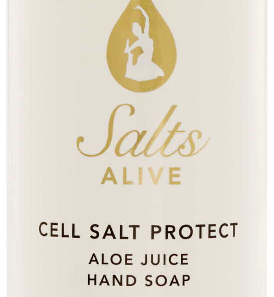 Cell Salt Protect Hand Soap 8oz 250ml Label