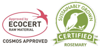 EcoCert Sustainably Grown Certified