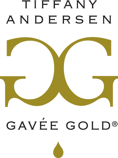 Gavee Gold Logo Metallic