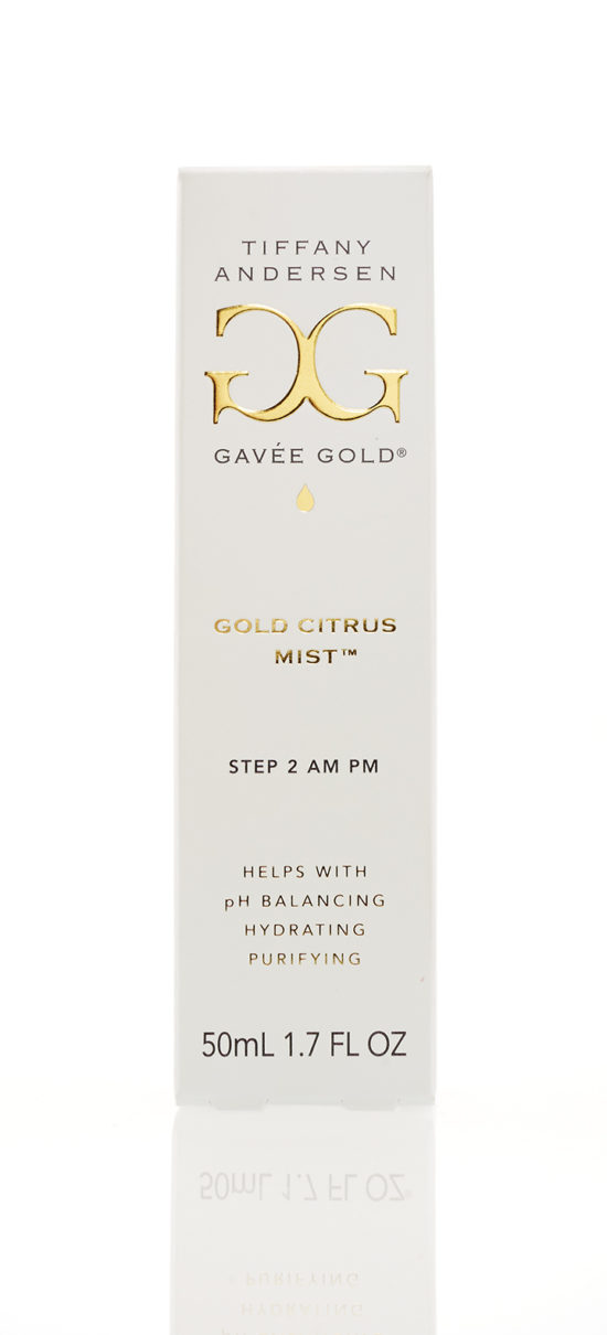 Gold Citrus Mist 50ml Box