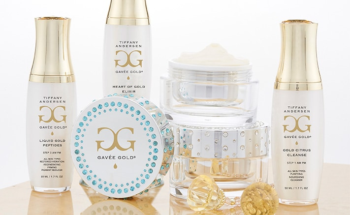 Gavée Gold high performing skincare