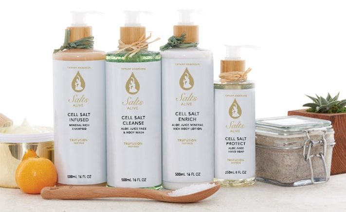 Salts Alive Bath and Body Products