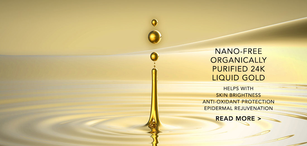 Nano-Free Organically Purified 24K Liquid Gold