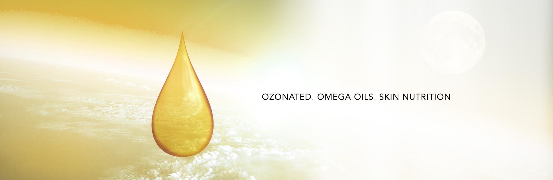 Ozonated Omega Oils