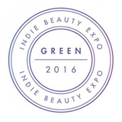 Indie Beauty Expo Green Seal 2016