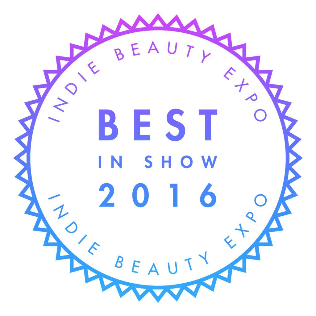 Indie Beauty Expo Award Logo 2016